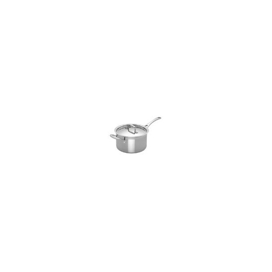 Le Creuset 3-Ply Stainless Steel 20cm Saucepan and Lid