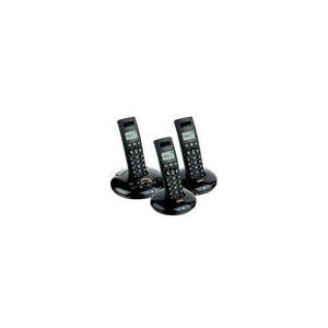 Photo of BT Graphite 1500 Trio Digital Cordless Answer Phone -  ECO Phone Landline Phone