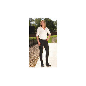 Photo of Tesco Ladies Heavy Duty Jodhpurs, Black,Size 16 Sports and Health Equipment