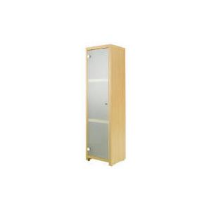 Photo of Beech Floor Standing Storage Cupboard Bathroom Fitting