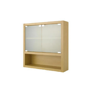 Photo of Beech Double Wall Cabinet Household Storage