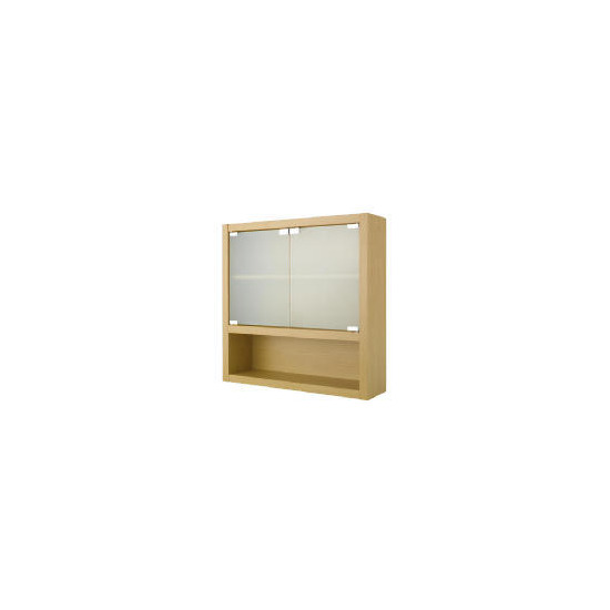 Beech Double Wall Cabinet