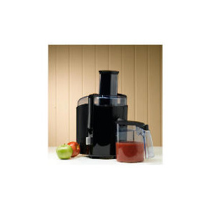 Photo of Philips HR1858 Black Gloss Whole Fruit Juicer Juice Extractor
