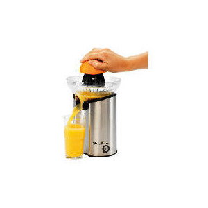 Photo of Moulinex Citrus Press Direct Serve Stainless Steel/ Black Kitchen Appliance