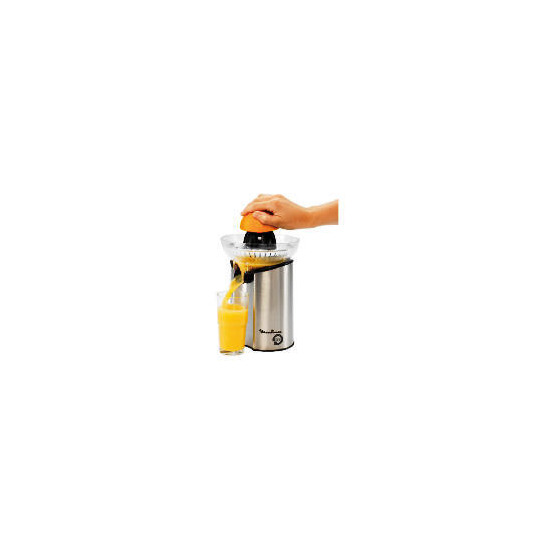 Moulinex Citrus Press Direct Serve Stainless Steel/ Black