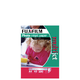 Fuji A4 photo inkjet paper 40 sheet Reviews