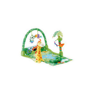 Photo of Fisher Price 1-2-3 Musical Rainforest Gym Toy