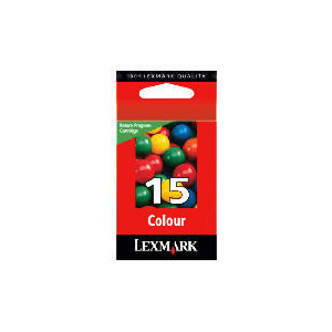 Photo of Lexmark 15 Colour Ink Ink Cartridge