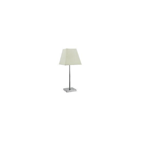 Tesco Matchstick Table Lamp, Cream