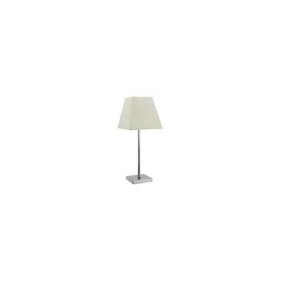 Tesco Matchstick Table Lamp, Cream