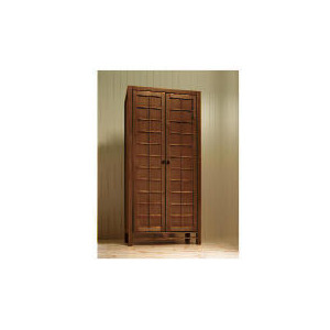 Photo of Bento 2 Door Wardrobe, Walnut Finish Furniture
