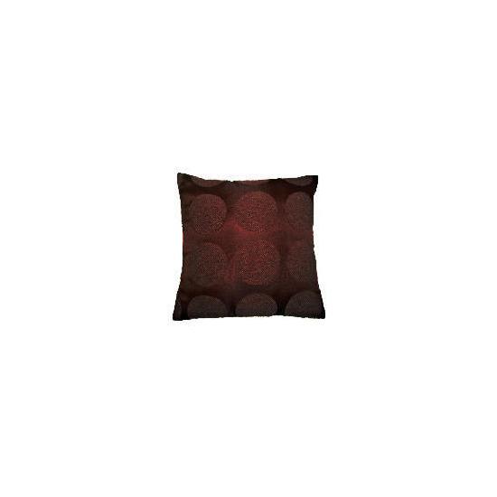 Tesco Boucle Cushion, Chocolate