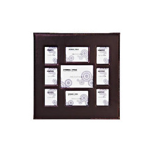 Photo of Padded Faux Leather Frame 9 Aperature Home Miscellaneou