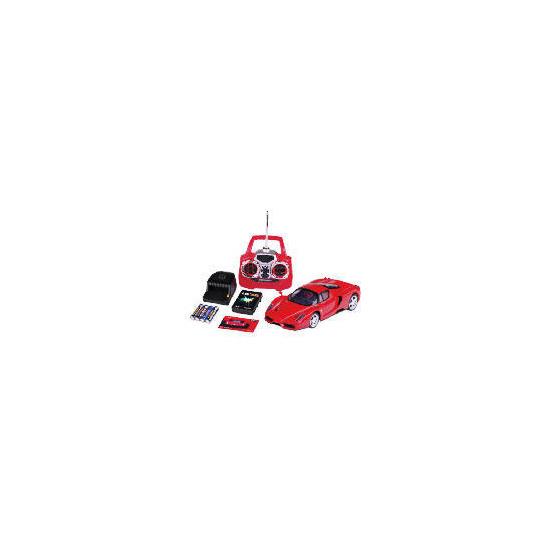 Silverlit Remote Control Ferrari With Case