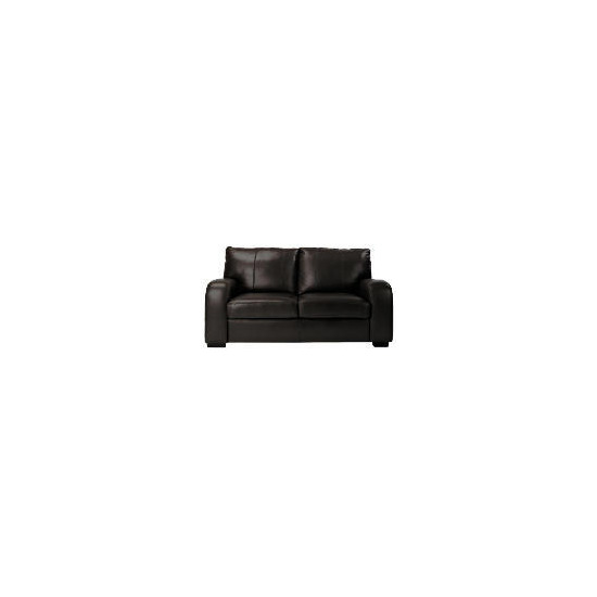 Memphis Leather Sofa - Black