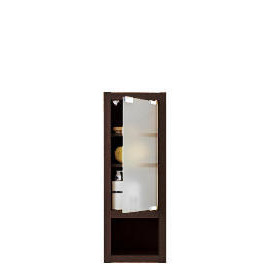 chunky Dark wood Slim-line wall cabinet Reviews