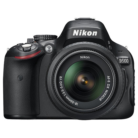 Nikon D5100 with 18-55mm Lens and 55-200mm Lens
