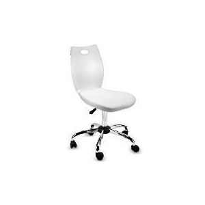 Photo of Glacier Acrylic Chair, White Cushion Furniture