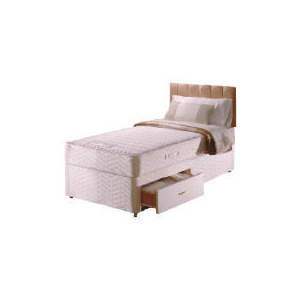 Photo of Sealy Posturepedic Ultra Memory Comfort 2 Drawer Divan Set Single Bedding