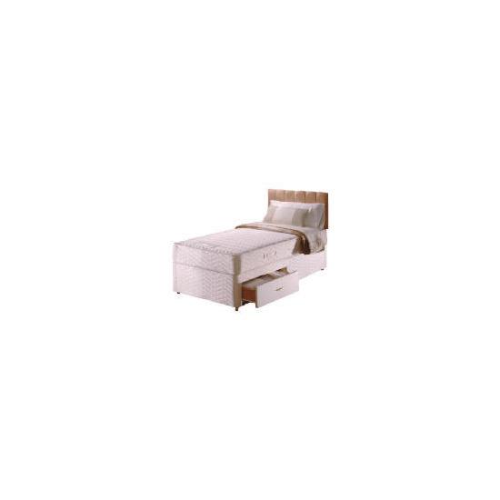 Sealy Posturepedic Ultra Memory Comfort 2 drawer divan set Single