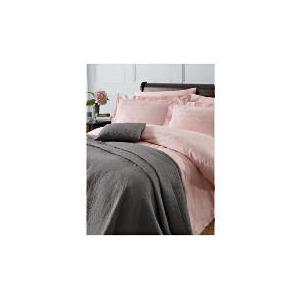 Photo of Finest Revolve Jacquard King Duvet Set, Pink Bed Linen