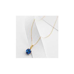 Photo of 9CT Gold Blue Mystic Topaz Pendant Jewellery Woman