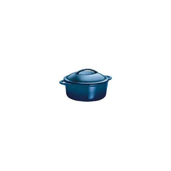 Finest Cast Iron Stockpot Blue 22 cm