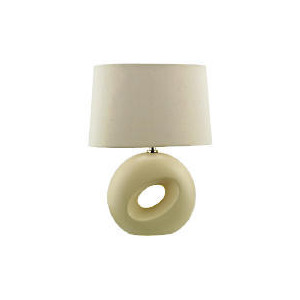 Photo of Tesco Calypso Table Lamp, Cream Lighting