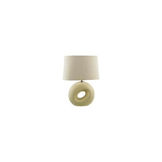 Tesco Calypso Table Lamp, Cream