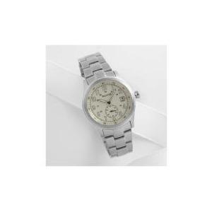 Photo of Accurist Mens Cream Dial Date Silver Bracelet Jewellery Woman
