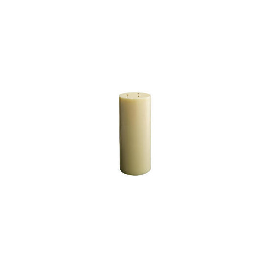 Tesco Multiwick Candle Ivory 15X36cm