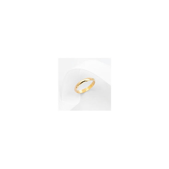 9ct Gold 3mm Wedding Ring N