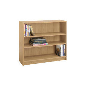 Photo of Value 3 Shelf 80CM Bookcase, Oak Effect Furniture