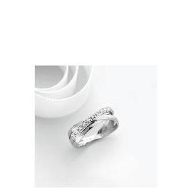 9ct white gold diamond ring P Reviews