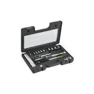 "Photo of Stanley 40PC ¼ & 3/8"" Metric Socket Set Tool"