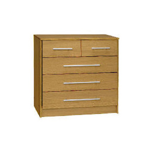 Photo of Brisbane 3 & 2 Drawer Chest, Walnut Furniture