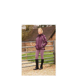 Ladies Lightweight Waterproof Quilted Purple riding jacket size 12 Reviews
