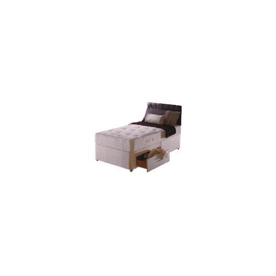 Sealy Posturepedic Ultra Ortho Superior 2 drawer divan set Single
