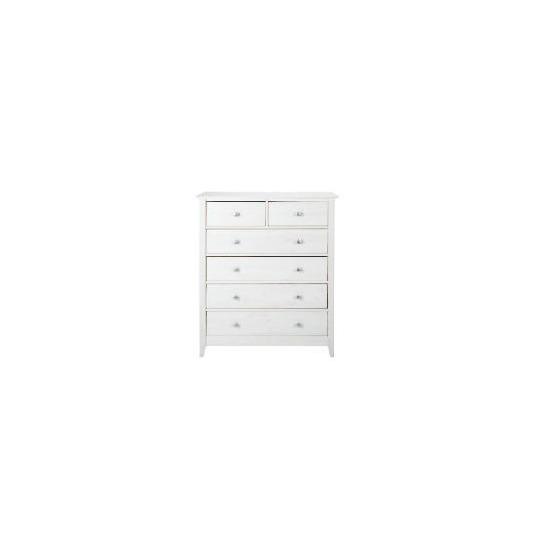 Fairhaven 4 & 2 drawer chest, White