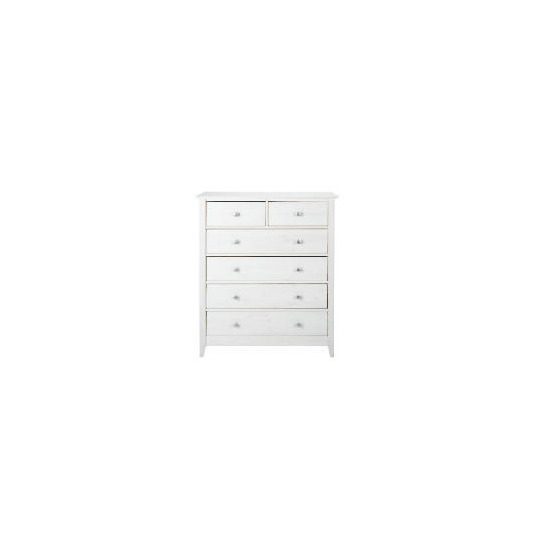 Fairhaven 4 & 2 drawer chest, White