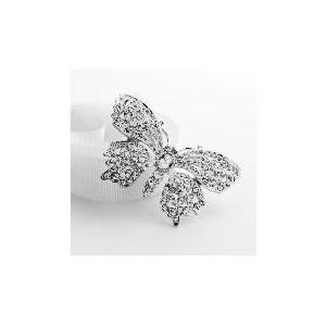 Photo of Adrian Buckley Crystal Butterfly Brooch Jewellery Woman
