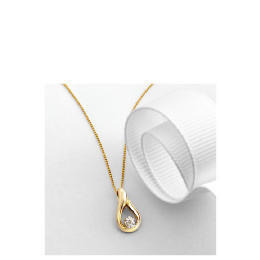 9ct Gold Diamond Pendant Reviews