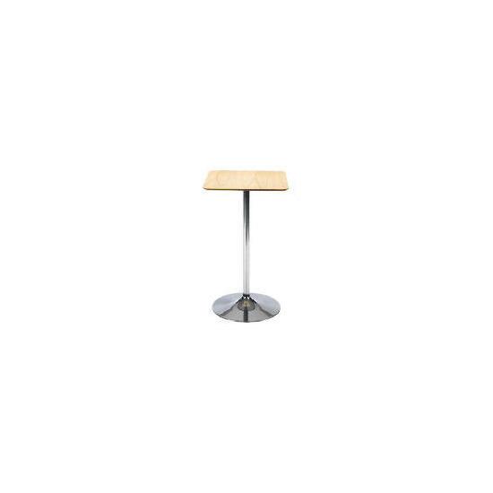 Mesa Bar Table, Oak veneer