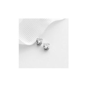 Photo of 9CT White Gold 1/2 Carat Diamond Studs Jewellery Woman