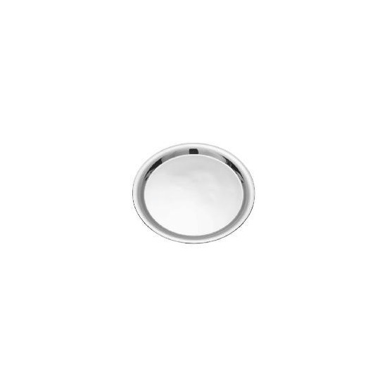 Tesco stainless steel round tray