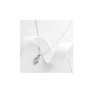 Photo of 9CT White Gold Diamond Pendant Jewellery Woman