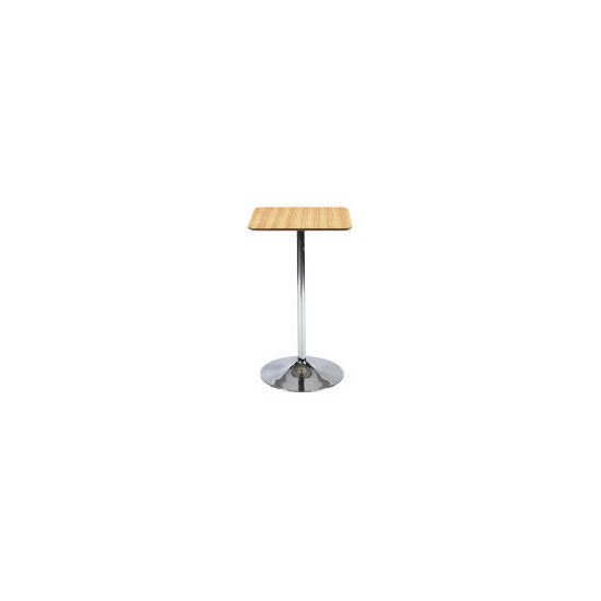 Mesa Bar Table, Zebrano effect