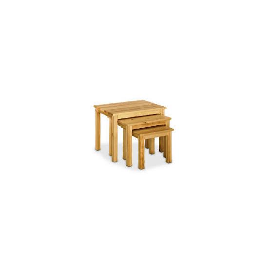 Pine Nest Set of 3 Tables