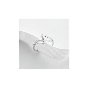 Photo of 9CT White Gold Diamond Ring J Jewellery Woman