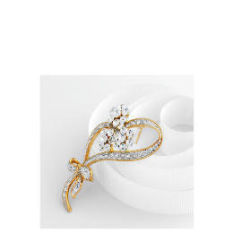 Adrian Buckley Crystal Flower Brooch Reviews